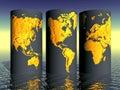 Global Pandemic Data, Epidemic, Coronavirus, World, International, Quarantine, Infographics.