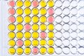 Enzyme-linked immunosorbent assay or ELISA plate Royalty Free Stock Photo