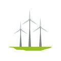Eolic wind turbine Royalty Free Stock Photo
