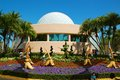 Epcot garden special displays—like blossoming gardens and vibrant topiaries—add to the beauty of Stock Photography