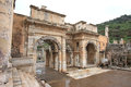 Ephesus ancient greek ruins anatolia turkey Stock Photography