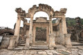 Ephesus ancient greek ruins anatolia turkey Royalty Free Stock Photos