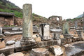 Ephesus ancient greek ruins anatolia turkey Stock Photo