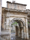 Ephesus ancient greek ruins in anatolia turkey Royalty Free Stock Image