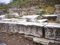 Ephesus ancient greek ruins in anatolia turkey Stock Photos