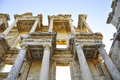 Ephesus the ancient ruin of greek city Royalty Free Stock Photo