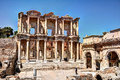 Ephesus celsus library in turkey Royalty Free Stock Photography