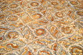 Ephesus mosaic a pretty pattern in the ancient roman city of Stock Photos