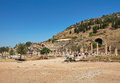 Ephesus odeon acient ruins turkey Royalty Free Stock Image