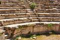 Ephesus odeon acient ruins turkey Royalty Free Stock Photos