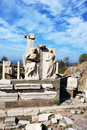 Ephesus Ruins Royalty Free Stock Photography