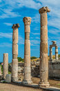 Ephesus ruins turkey ancient greek in anatolia Royalty Free Stock Images