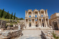 Ephesus turkey the library of celsus at the ruins Stock Image