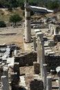 Ephesus turkey in old ruin Royalty Free Stock Images