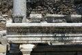 Ephesus turkey in old ruin Royalty Free Stock Photos