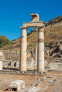 Ephesus turkey remains prytaneum temple of the Stock Photography