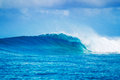 Epic Waves, Perfect Surf Royalty Free Stock Photo