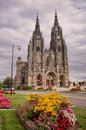 Epine Basilica church, France Royalty Free Stock Photos