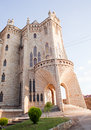 The Episcopal Palace in Astorga Royalty Free Stock Photo