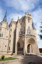 The Episcopal Palace in Astorga Stock Photo