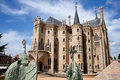 The Episcopal Palace in Astorga Royalty Free Stock Image