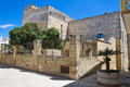 Episcopal palace castro puglia italy of Stock Image