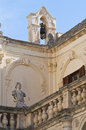 Episcopal palace. Lecce. Puglia. Italy. Royalty Free Stock Image