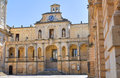 Episcopal palace lecce puglia italy of Stock Photos