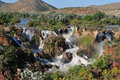 The Epupa waterfall, Namibia Stock Photography