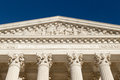 Equal Justice Under Law (Text at the front of Supreme Court of U.S.) Royalty Free Stock Photo