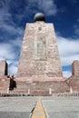 Equator Monument Royalty Free Stock Photo