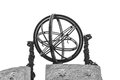 Equatorial theodolite the in beijing ancient observatory Stock Images