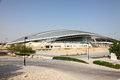 Equestrian centre in doha al shaqab qatar middle east Royalty Free Stock Photo