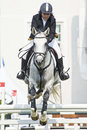 Equestrian Show Jumping Royalty Free Stock Photos