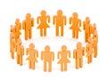 Equipe do Logotype Foto de Stock