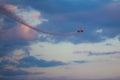 Equipe el bravo aviones x sukhoi los m Fotografía de archivo