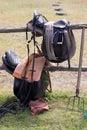 Equipment to horsemanship Royalty Free Stock Photo