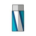 Eraser school supply icon
