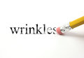 Erasing Wrinkles Royalty Free Stock Photo