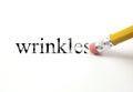 Erasing Wrinkles Royalty Free Stock Photo