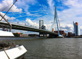 Erasmus Bridge Stock Photo