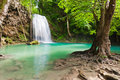 Eravan Waterfall, Thailand Royalty Free Stock Photos