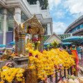 Erawan Shrine in Bangkok Royalty Free Stock Photo