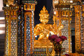 Erawan Shrine, Famous Landmark in Bangkok, Thailand Royalty Free Stock Photo
