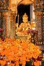 Erawan Shrine, Landmark in Bangkok, Thailand Royalty Free Stock Photo
