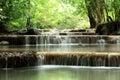 Erawan Waterfall Stock Image