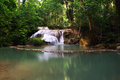 Erawan Waterfall, Royalty Free Stock Photography