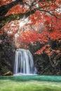 Erawan Waterfall Royalty Free Stock Photo