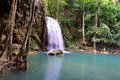 Erawan Waterfall, Thailand Stock Photos