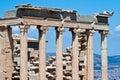 Erechteion Temple Acropolis Athens Greece Royalty Free Stock Photo